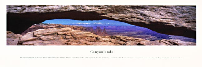Canyonlands National Park Panoramic Photograph