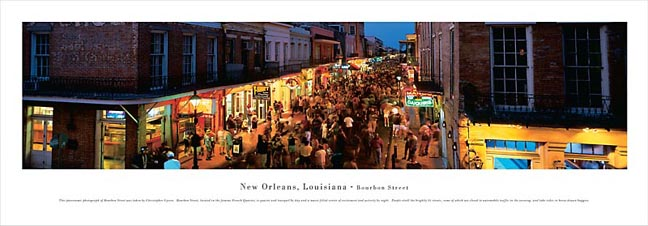 New Orleans Louisiana Skyline Panoramic Photograph 2
