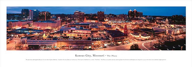 The Plaza Kansas City Skyline